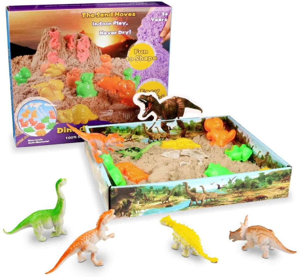 dinosauri Weeygo Magic Sand Sabbia Modellabile